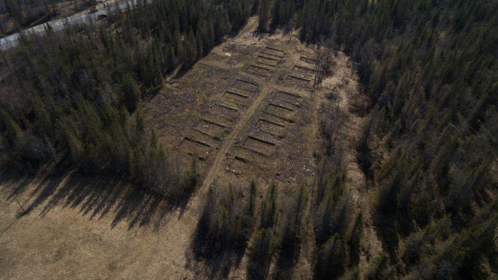 Her er de ukjente restene etter nazistenes store prosjekt i Norge