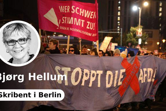 Fremtidsfrykt gir grobunn for tysk høyrepopulisme