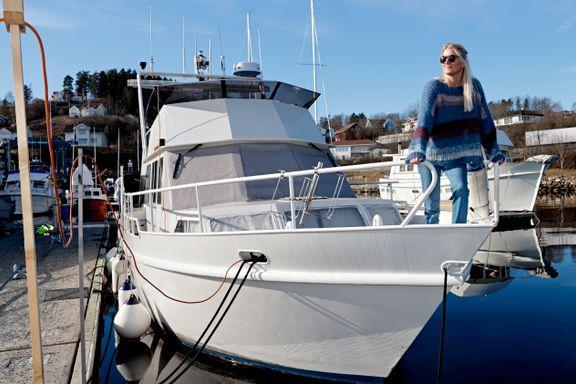 Byttet ut leilighet med båt. Betaler 4000 kroner i måneden og er mer tilfreds.