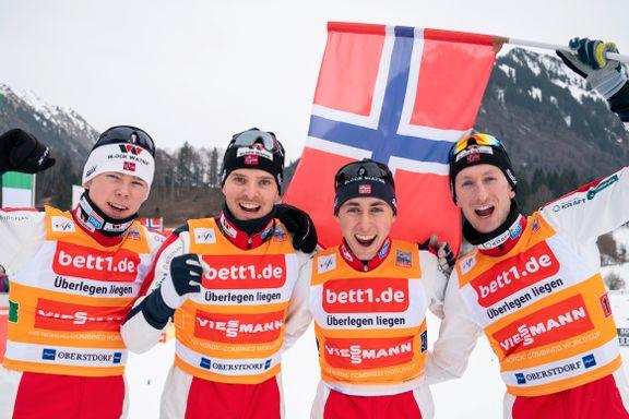 Norge tok overlegen seier i prøve-VM: – Fantastisk