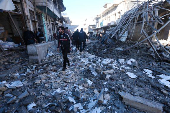– 18 sivile drept i luftangrep i Syria