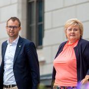 Solberg mener Ropstads boligsak «ikke er politisk klok»