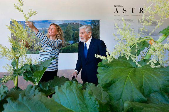 Tidenes største Astrup-utstilling på Høvikodden  - Dette skulle far ha fått oppleve