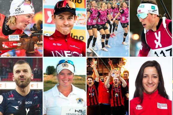 Her er kandidatene til «Årets idrettsnavn» på Sørlandet