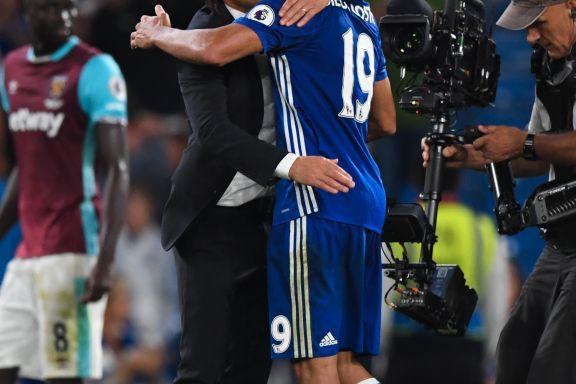 Costa reddet Contes Chelsea, men skulle vært utvist