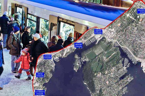 Oslo må opprette en egen etat for å bygge Fornebubanen