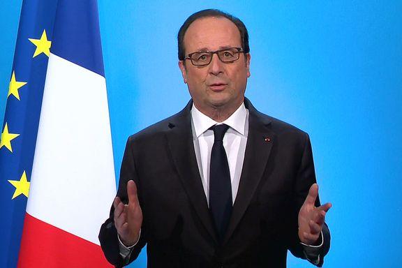 Sjokkmelding fra Hollande - stiller ikke som presidentkandidat