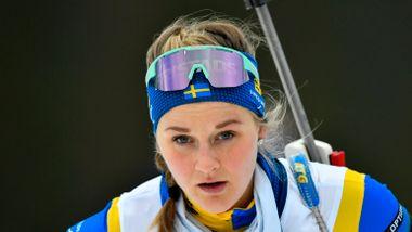 Stina Nilsson med første feilfrie skyting