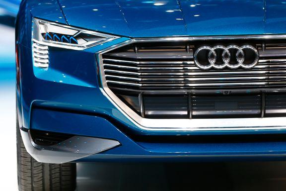Audi må betale nesten 8 milliarder i utslippsbot