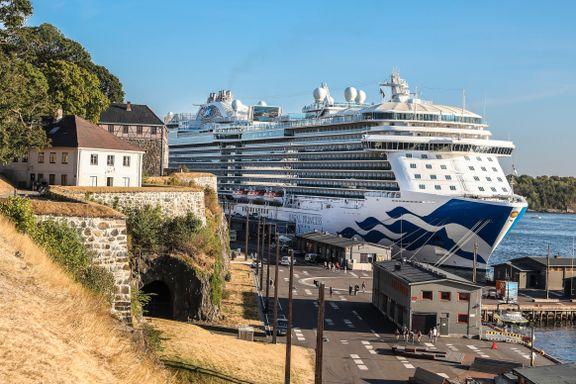 Cruiseskipene er klimaverstinger: – Forbud er ikke aktuelt i Oslo