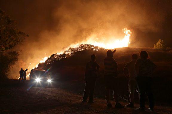 27 døde i skogbrann i Portugal