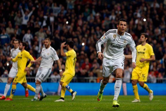 Real Madrid snublet mot reservepreget Villarreal