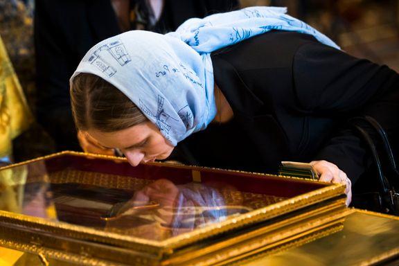 Russerne trodde de fikk en «ekstra sann og sterk» relikvie på besøk - det kan ha vært helt feil