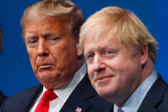 Johnson hatet å bli kalt «mini-Trump». Nå legger britene inn tidenes sjarmoffensiv overfor USAs nye president.