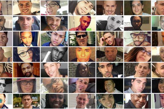Her er alle ofrene etter Orlando-terroren