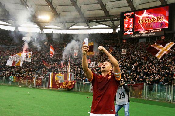 Totti-selfie førte til ordkrig