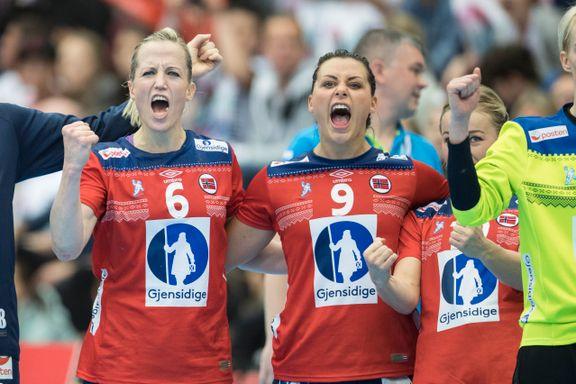 DIREKTE: Norge til semifinale - vant stort over Russland