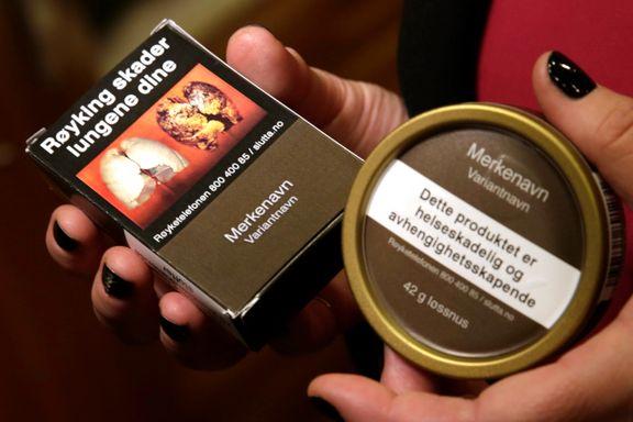 Nøytral tobakk kommer i løpet av det neste året