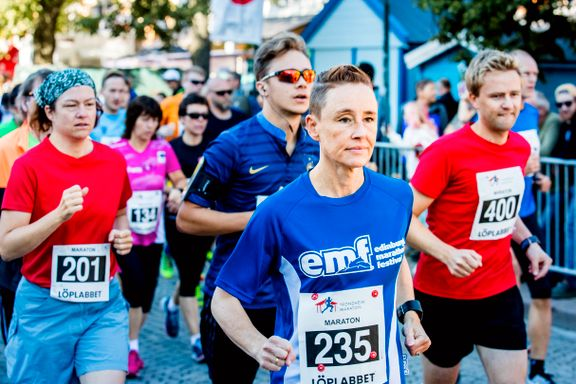 Trondheim maraton knuser deltakerrekorden
