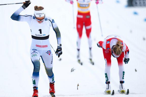 Nilsson spurtslo Johaug – Østberg «sikret» verdenscupseieren