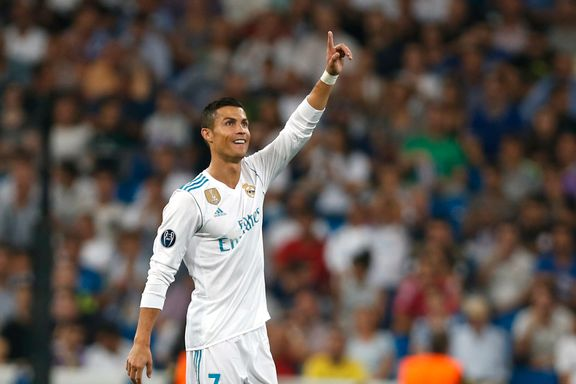 Ronaldo i spissen for sju Gullballen-kandidater fra Real Madrid