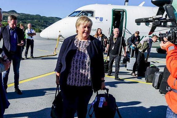 Erna Solberg mener Brundtland ikke vet hva hun snakker om