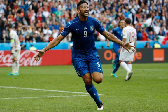 Italiensk EM-stjerne til kinesisk fotball