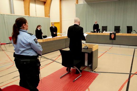 Behring Breivik i retten: Jeg er blitt mye mer radikal. Jeg har vært isolert og ikke korrigert en eneste gang