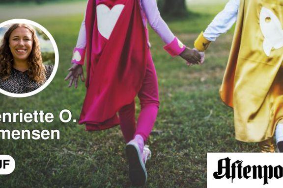 Norge er blitt en bremsekloss i kampen for barns rettigheter   Henriette Oudmayer Simensen