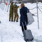 Ni dager siden raskatastrofen. Her får evakuerte Gro Staalesen endelig flytte hjem.