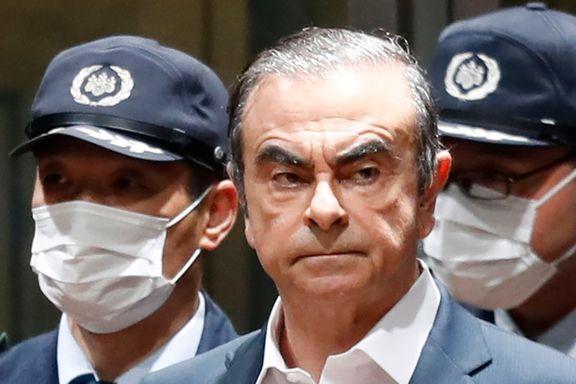 Den tidligere Nissan-sjefens elleville flukt fra Japan: Skal ha blitt smuglet ut i en kontrabasskoffert med dobbelt bunn