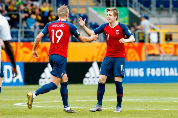 De briljerte på det norske ungdomslandslaget. Nå møtes de for hvert sitt lag i tysk toppfotball.
