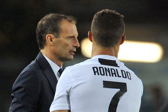 Juventus-treneren bekrefter: Ronaldo vil bort fra Juventus