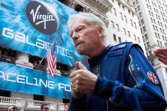 Kappløp til verdensrommet: Virgin-Branson vil slå Jeff Bezos