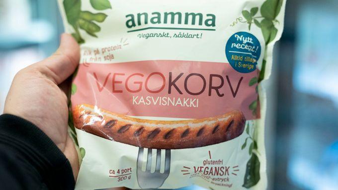 EU-ja til vegetarpølse og vegetarburger