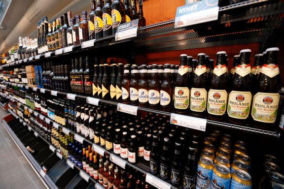 Alkoholsalget i Norge øker kraftig