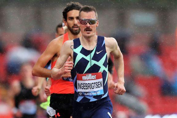 Kroppen er fin, nå ser Henrik frem til 5000 meter i Firenze