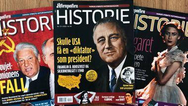 Slik kan du lese magasinet Aftenposten Historie