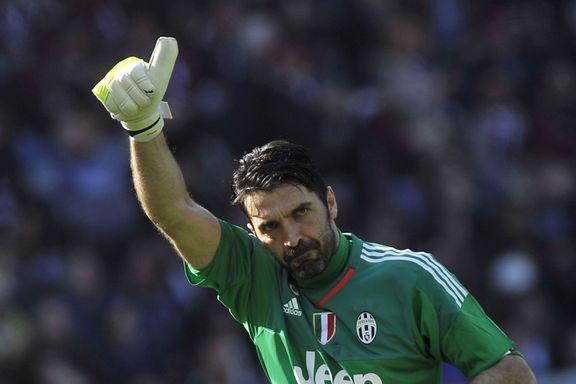 Buffon slettet 20 år gammel rekord