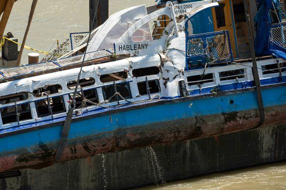 Fire nye ofre funnet etter at ulykkesskipet i Budapest ble hevet