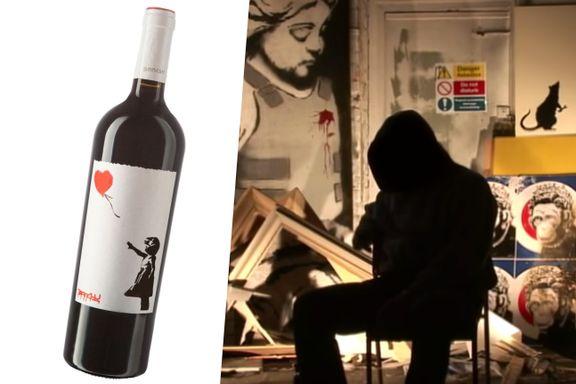 Norsk vin i trøbbel etter konflikt med kunstneren Banksy