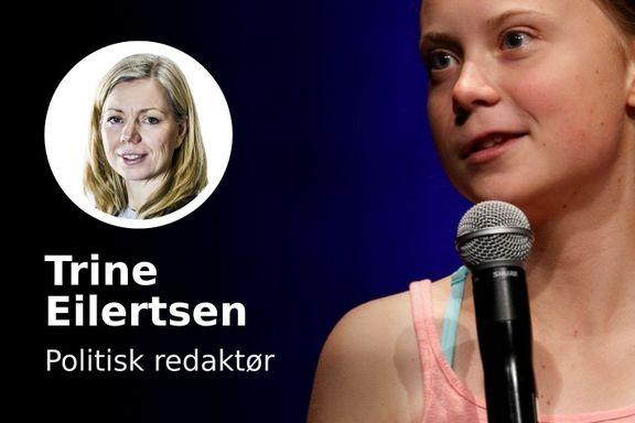 Umulig å kombinere en uro for klimaet med en uro for mennesket Greta Thunberg