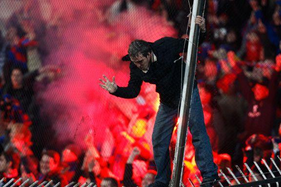 - CSKA-fans arrestert etter nødlanding