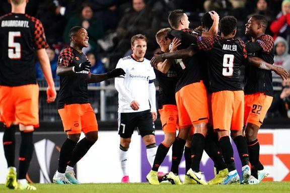 Rosenborg fikk juling i Europaligaen