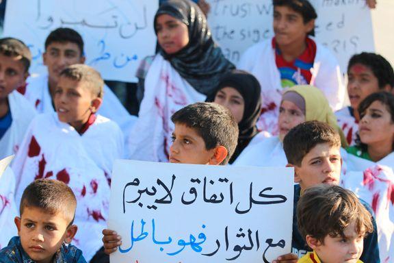 FN krever fritt leide til Aleppo umiddelbart