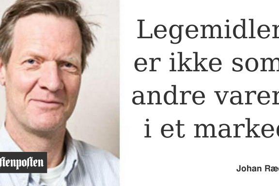 Legemiddelmangel er et problem som må tas alvorlig | Overlege Johan  Ræder