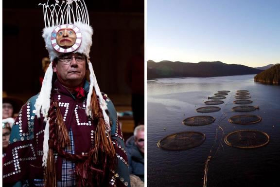 Urfolk mot norske oppdrettere i Canada: – Det er et angrep mot vårt folk