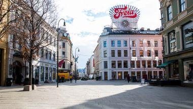 Leieprisene for butikklokaler i Oslo stuper