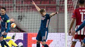 Ødegaard om «rakett-scoringen» for Arsenal: – Bra treff
