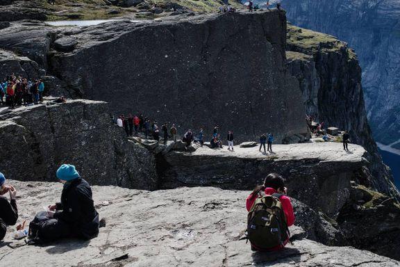 Nødetatene har ikke dekning på en av Norges mest populære fjellturer
